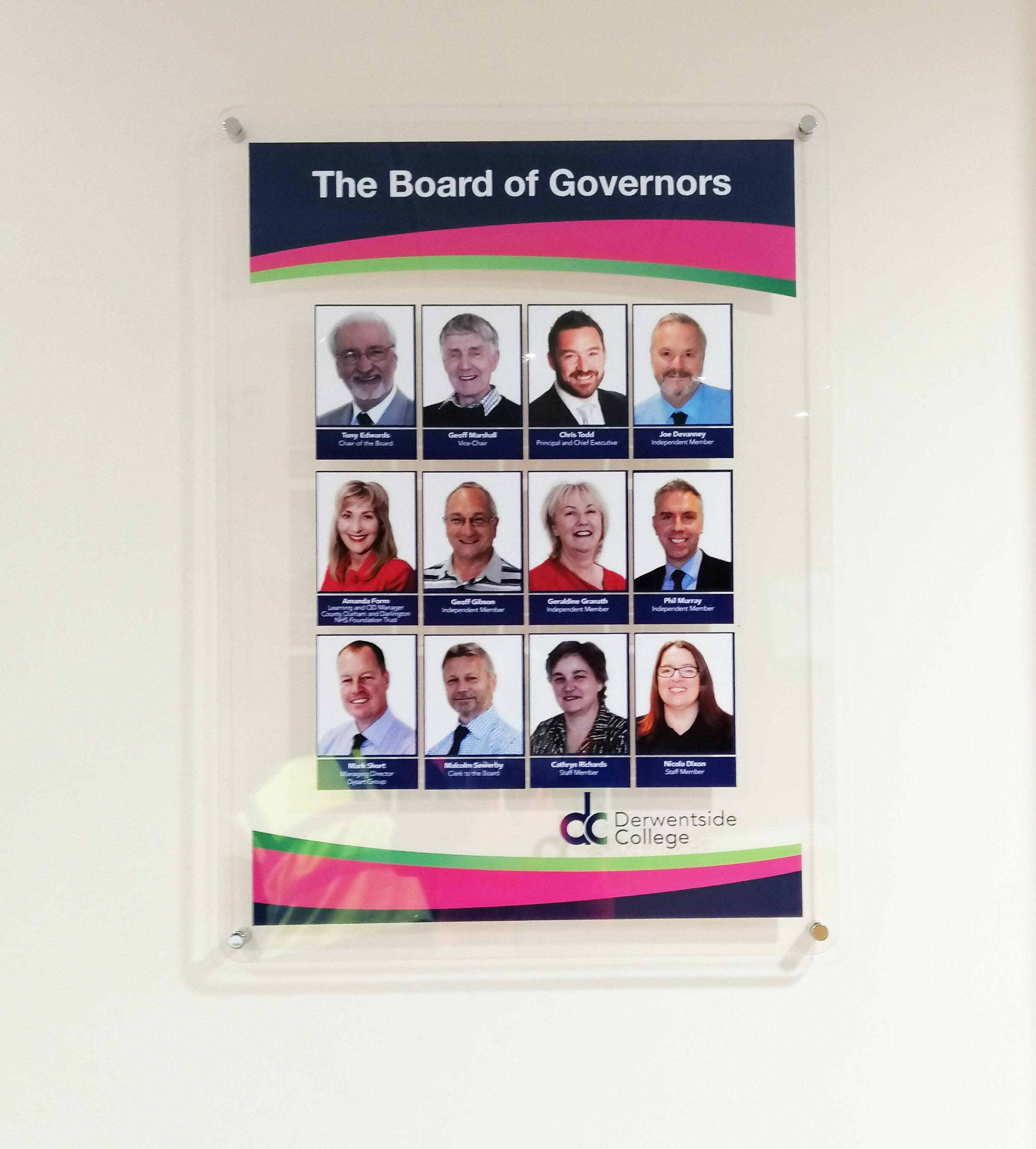 Derwentside College Staff Board