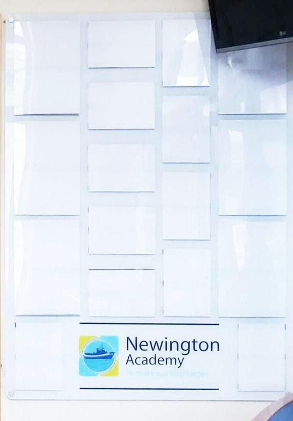 Newington Academy Staff Board