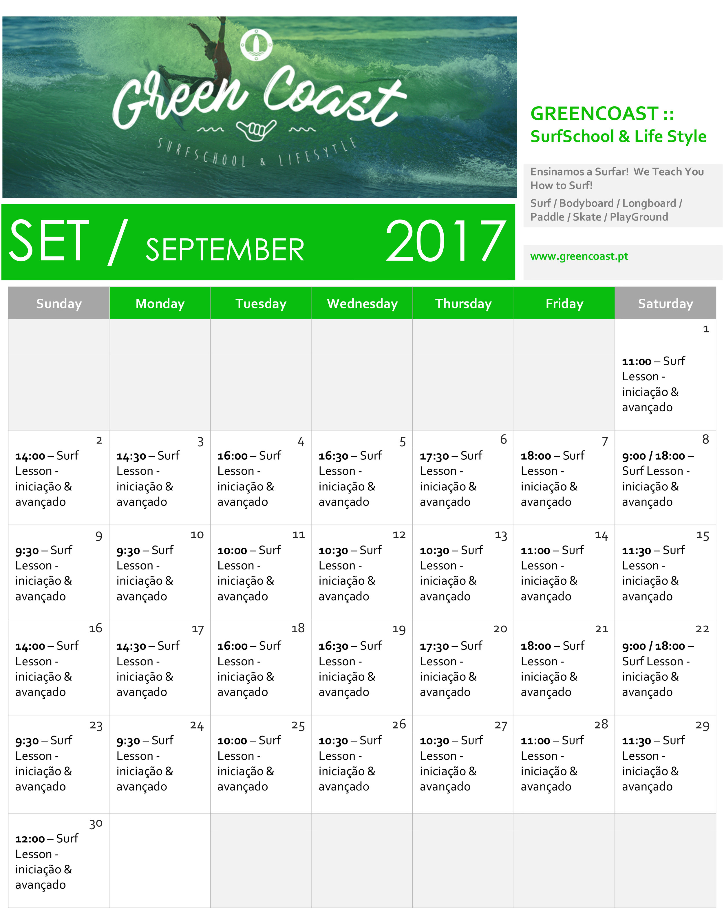 horario-shedule-setembro