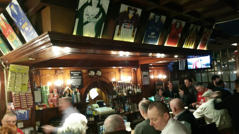 Inside of The Sackville Lounge