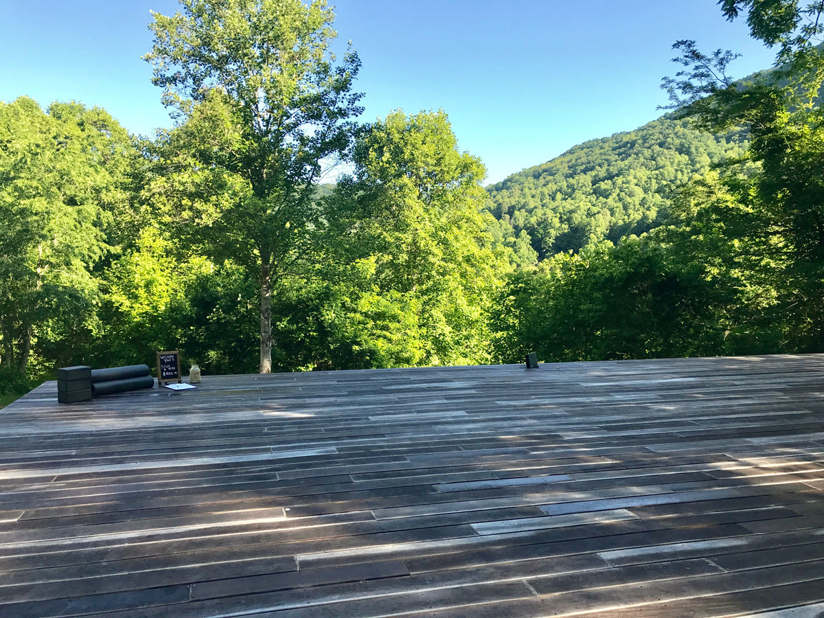 Asheville yoga retreat