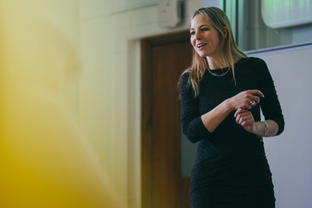 Talk  — Secrets of Trees with Professor Alice Roberts (pictured).