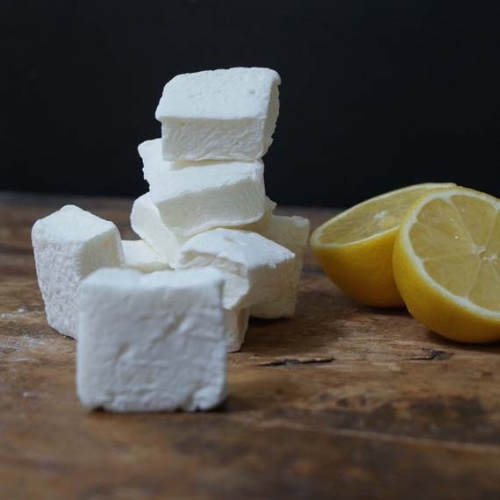 Freshly-made and gourmet-flavoured  marshmallows .
