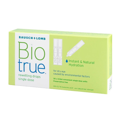 Wide eyes // - Hands up if you're guilty of excessive screen time? That'll be all of us then. Eyes are dried out by polluted city environments, temp control andcomputer usage. Contact wearers and non-contact wearers alike, give your eyes a rest and a refresh.Eye drops, Biotrue -£9.99