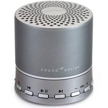 Sound Oasis is a bluetooth speaker that blocks out noise to create calm.