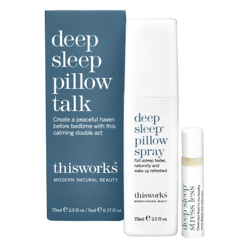 thisworks spray has soothing lavender to improve sleep.