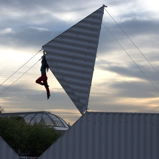 Origami - A machine isn't the ideal dance partner, surely? Multihyphenate dancer-choreographer-circus artist Satchie Noro rewrites all the rules as she moves seamlessly with the imposing, mechanical metal structure in Origami.Where? Various locationsWhen? June 22nd-24th