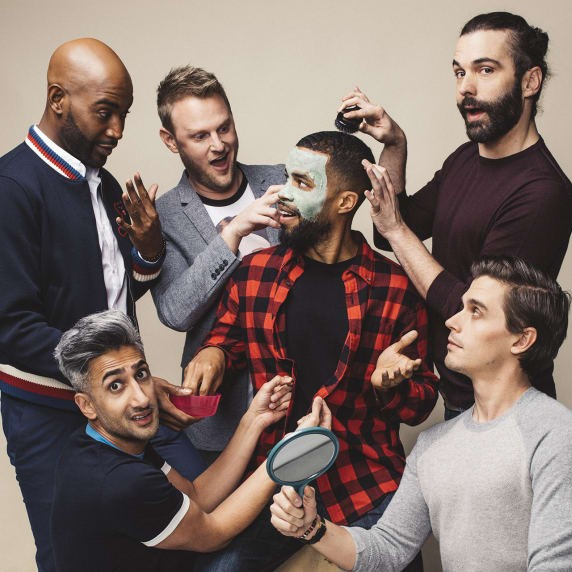 Probably Definitely the best thing to happen in 2018,  Queer Eye  is back for round two of their joy-giving, life-affirming make-overs.