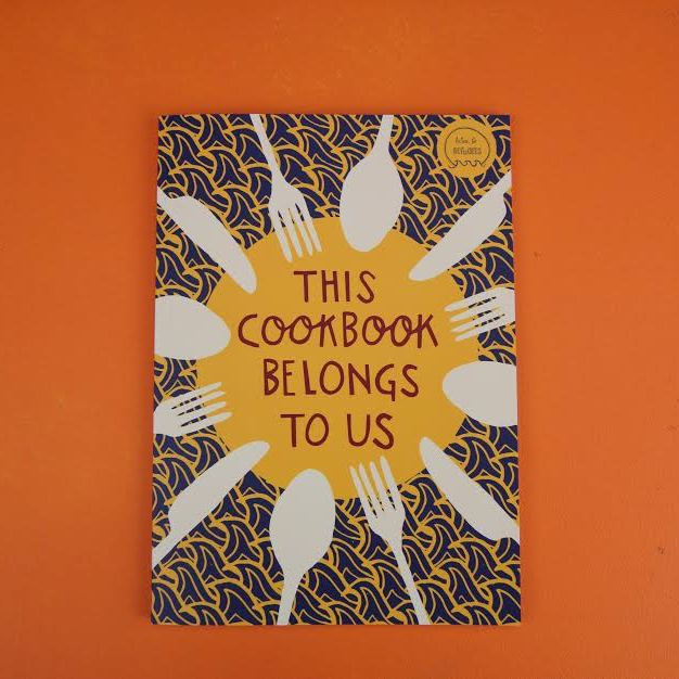 This Cookbook Belongs To Us (£12.50)   is a collection of recipes from  Bearwood and Kings Heath Action for Refugees . Profits go to help refugees in transit.