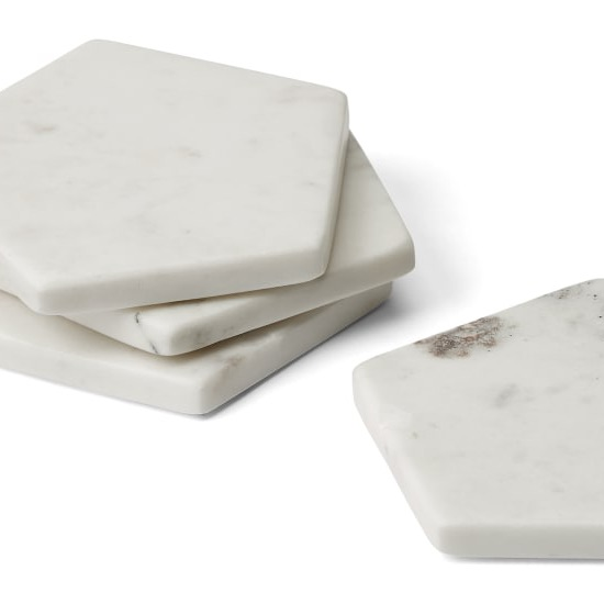 Plan to go cray-cray in   MADE.COM  ? The first 30 customers spending £500+ get a bag of goodies, including these marble coasters