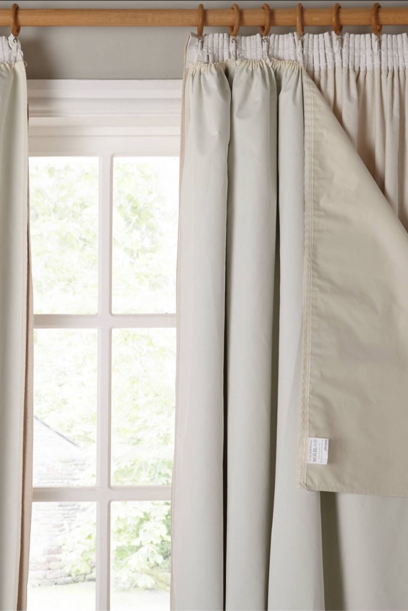 Keep curtains (ones with a   blackout lining  ) shut during the day to keep the room temp down. Night-time you says thanks