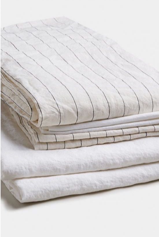 Linen is moisture wicking, unlike cotton. So get   linen   bed sheets for a cooler night and use that good ol' freezer trick on your pillow case