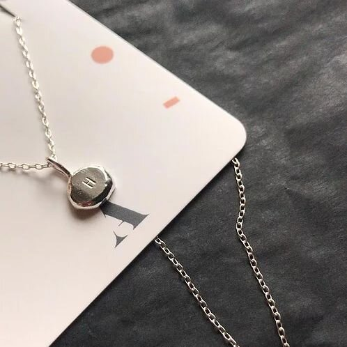 As well as Atypical Thing engraving their   silver ingot necklace   with an initial or number of your choice, you can also add a birthstone, all for no extra cost. Can't say fairer than that.