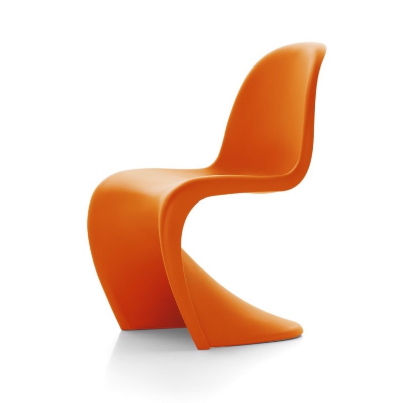 How long would you spend designing a chair? The idea for the  Panton  began in the mid 50s, but it didn't go into production until 1967. Worth the wait though.