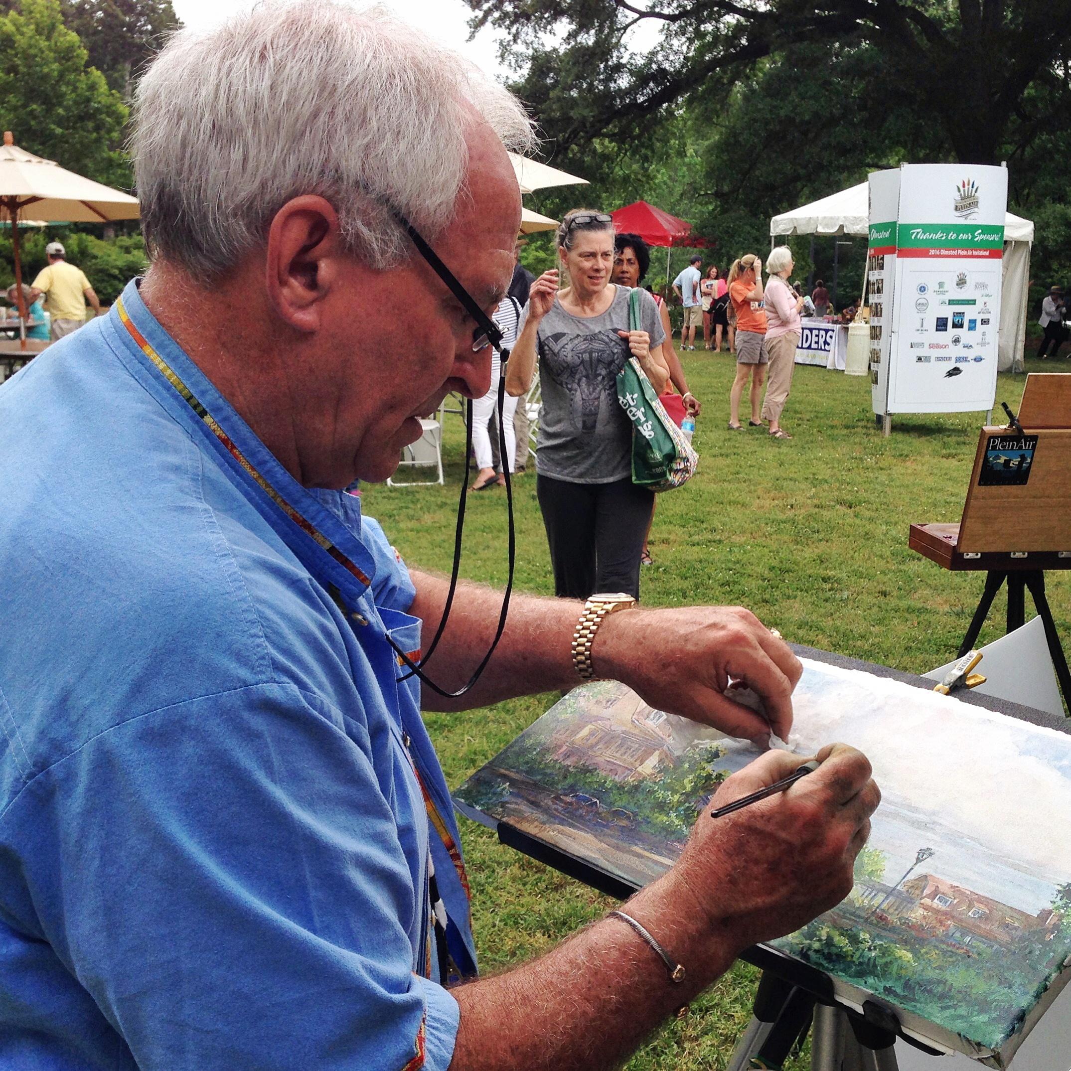 Artist Tom Lynch