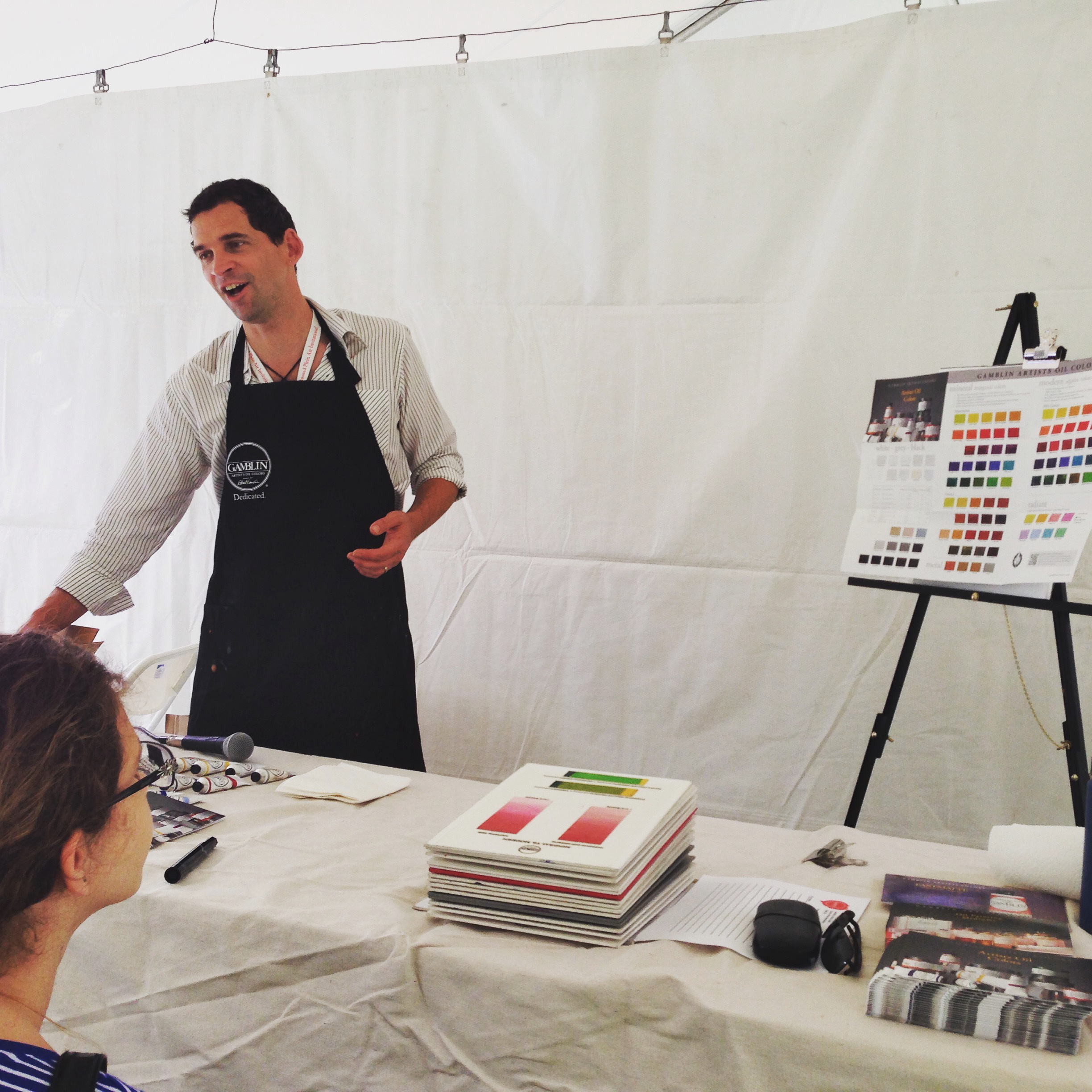 Scott Gellatly is an artist and the product manager for Gamblin Artist Colors