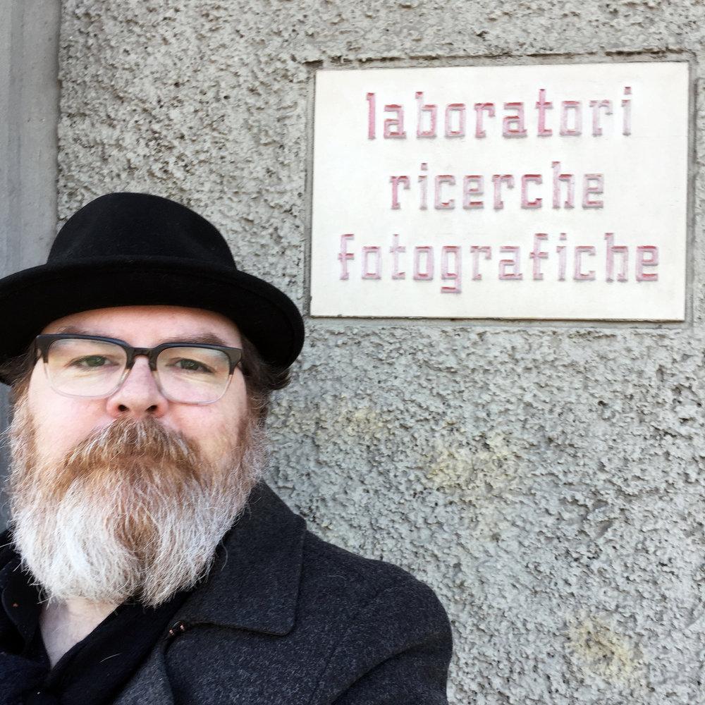 Dave Bias of FILM Ferrania (courtesy of Dave Bias)