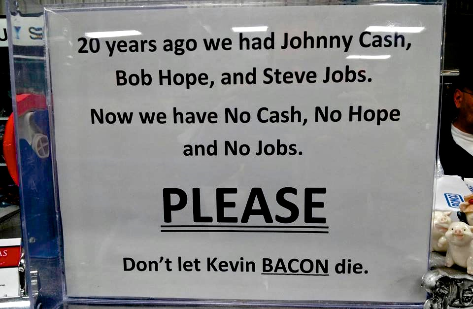 Kevin Bacon quote