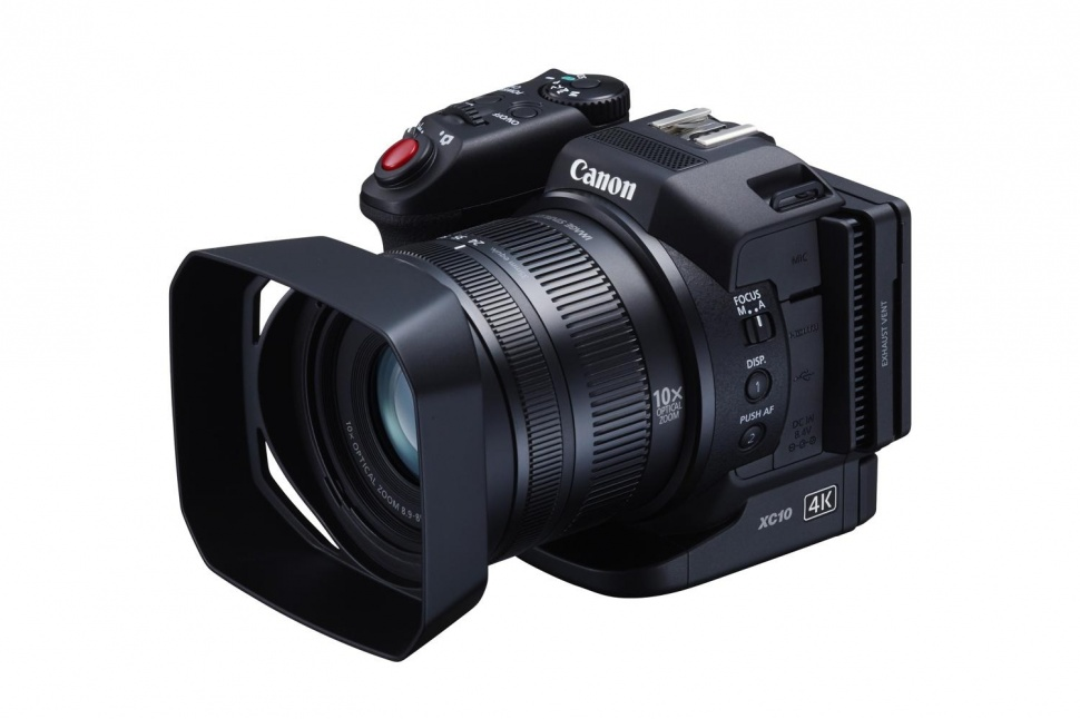 Canon XC10 side view
