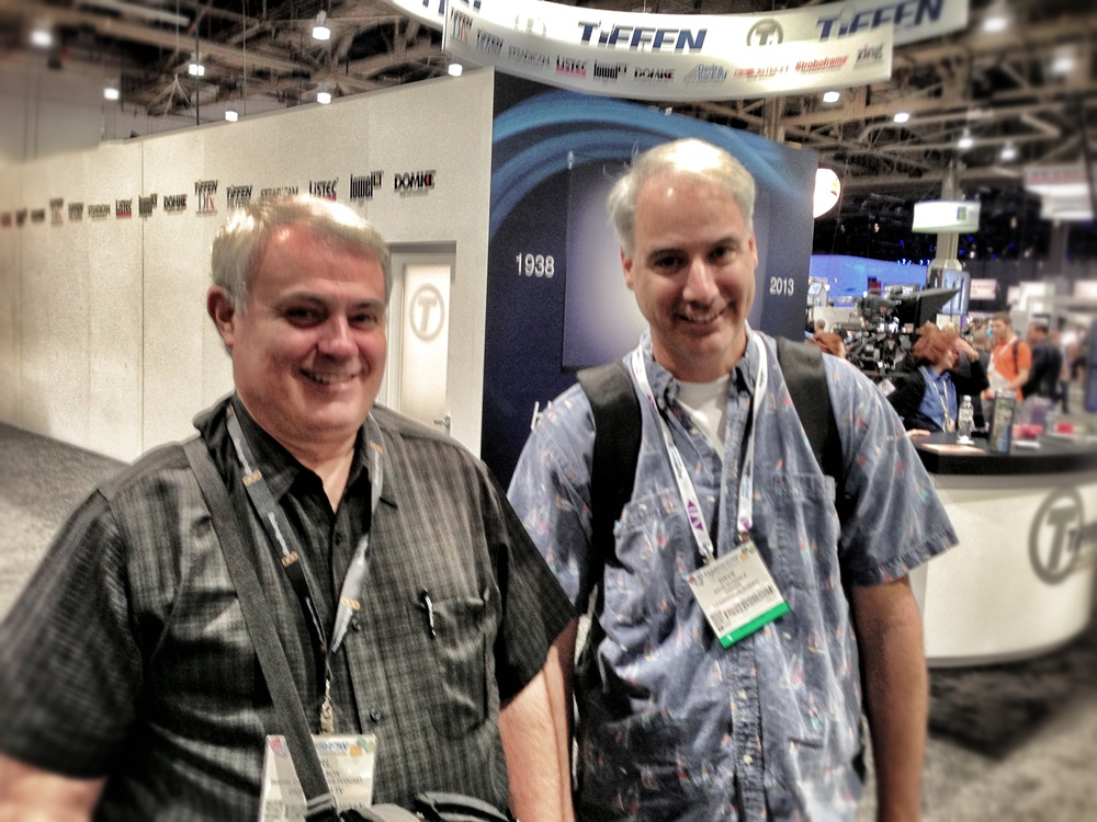 Carl Olson and Dave Dugdale