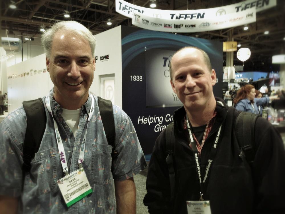 Dave Dugdale and Chris Fenwick