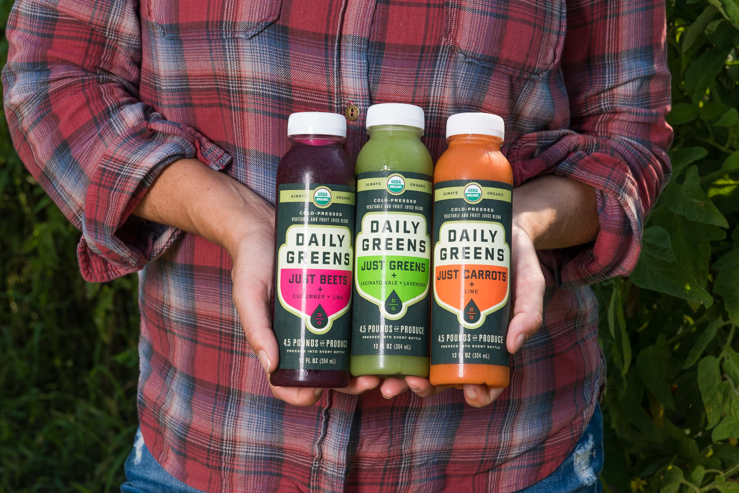 The new Just Veggies line launched in Summer of 2017