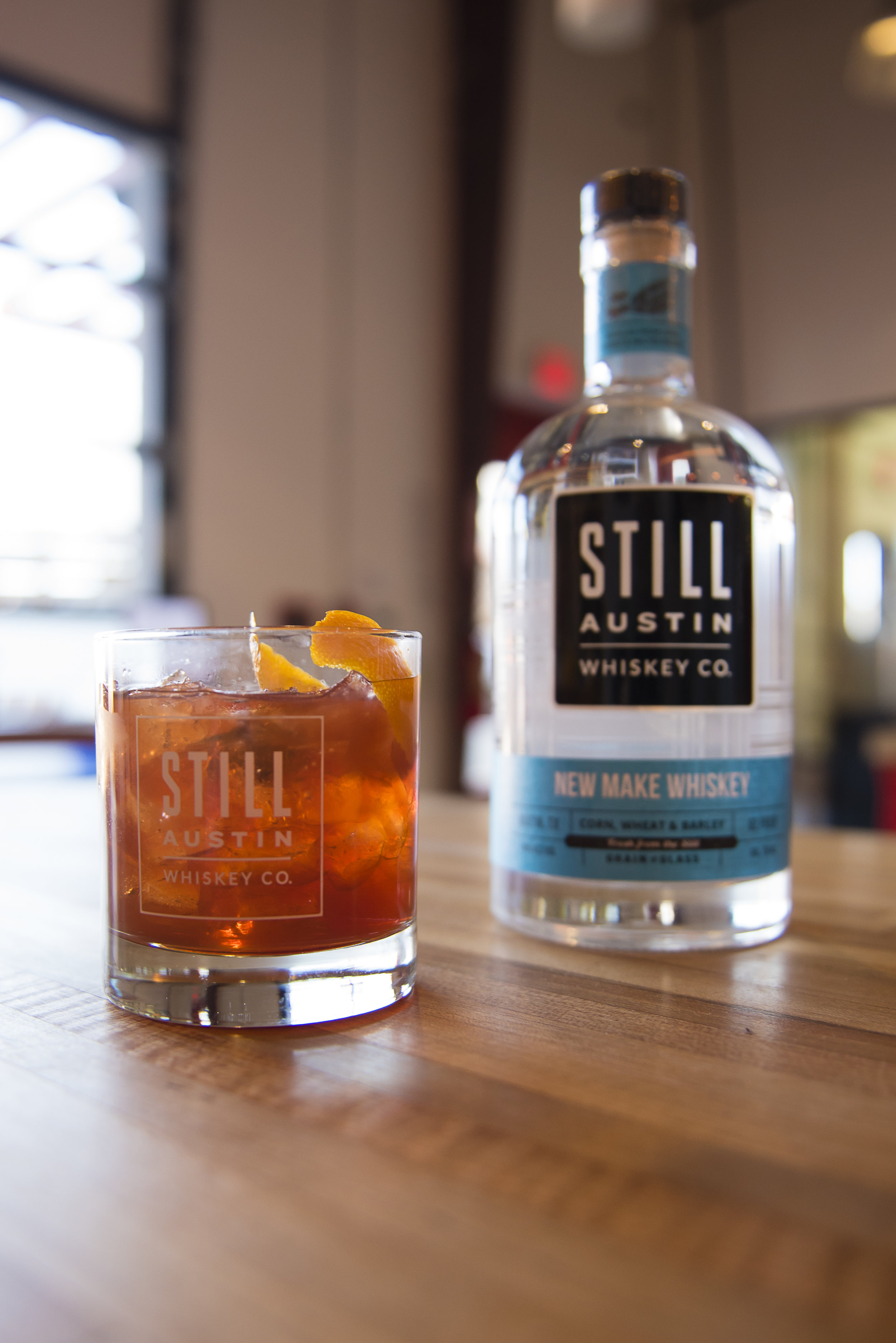 Whiskey Cocktail from Still ATX