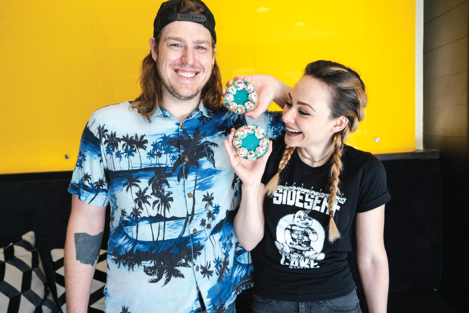 SideSerf Cake Studio's Dave and Natalie Sideserf