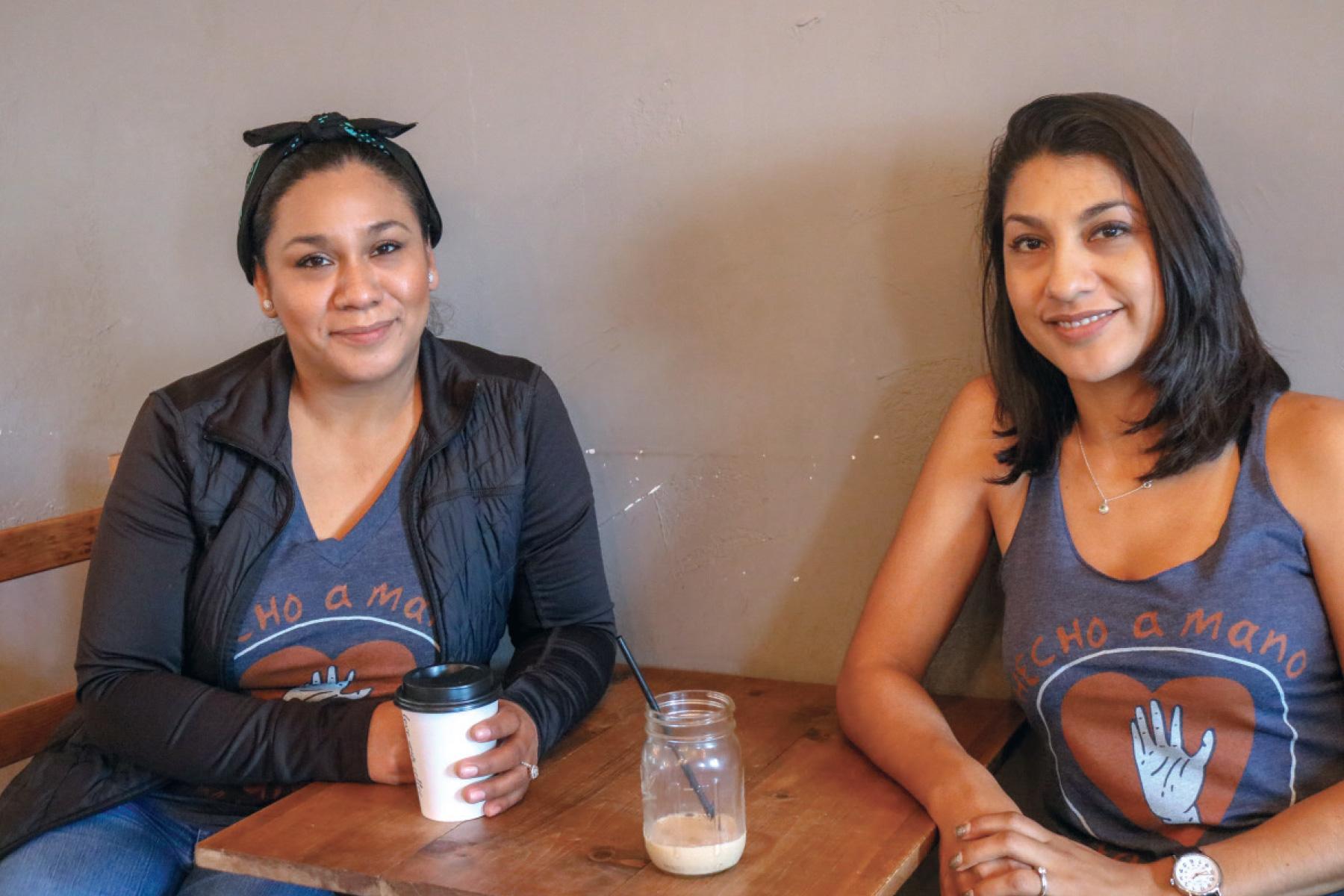 Sisters Reyna and Maritza Vazquez