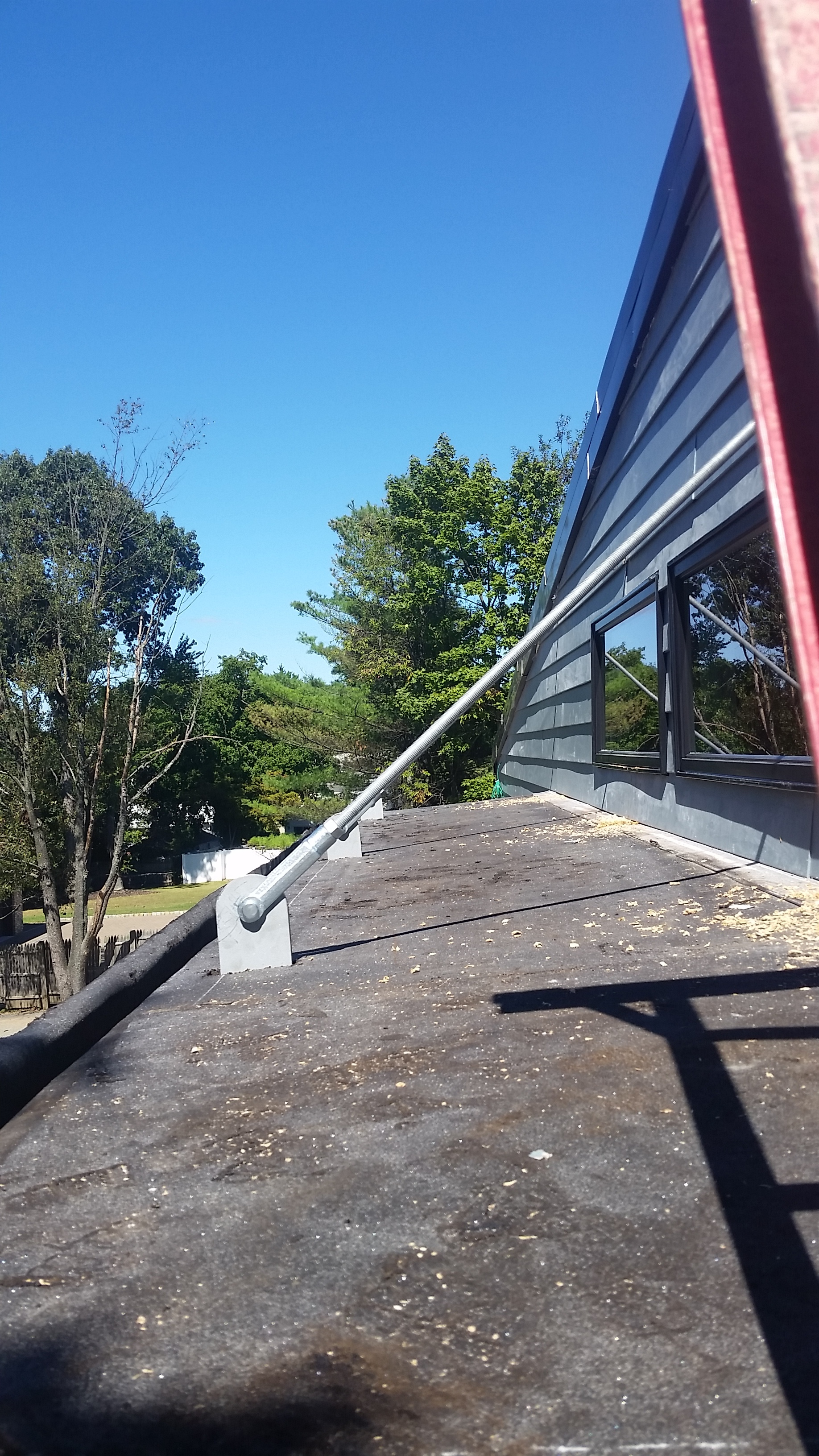 Awning Braces and                   Supports