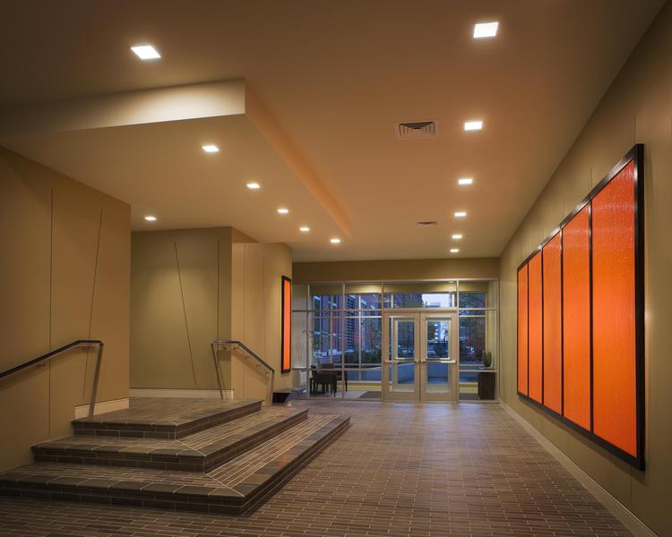 Copy of Mitchell Properties: Lobby area of 700 Harrison in Boston's South End