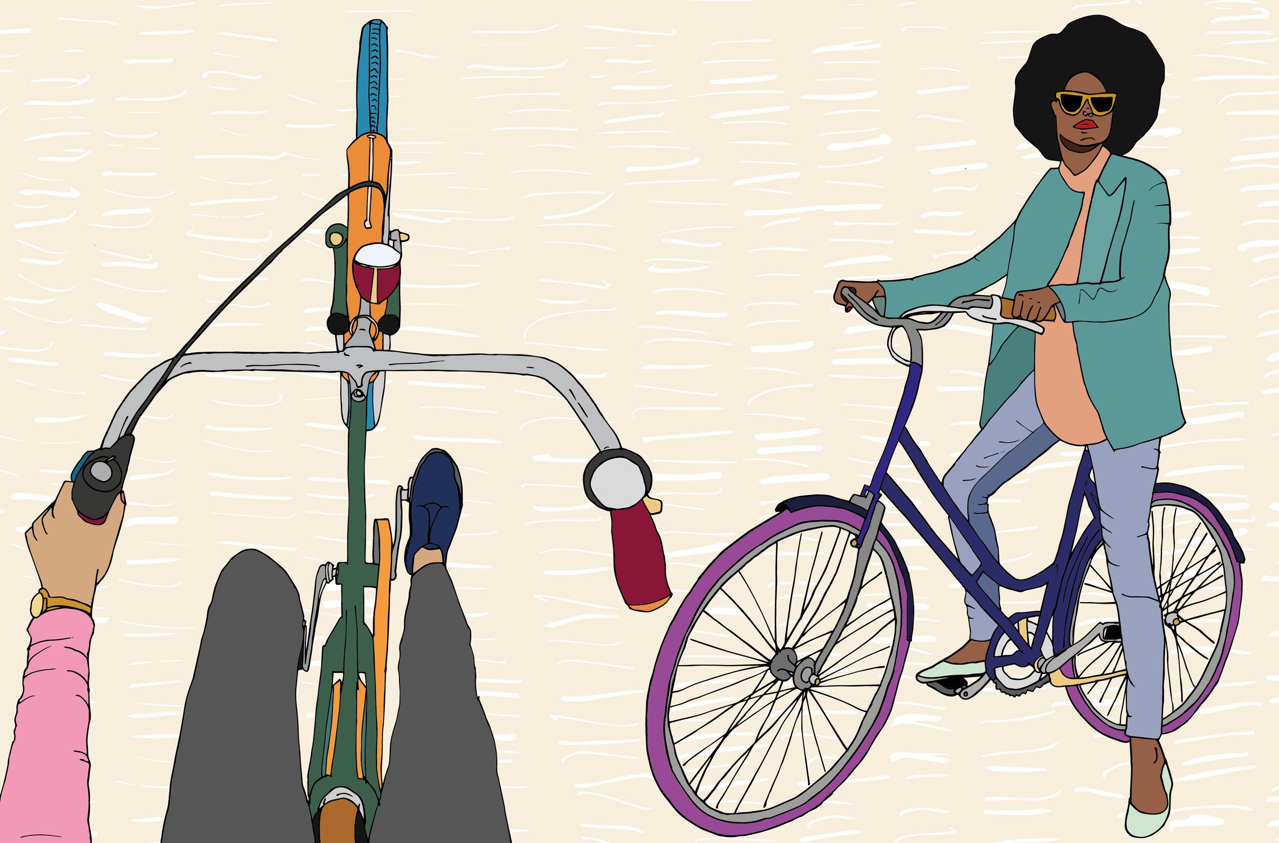 Cycling as a WoC www.parysgardener.com