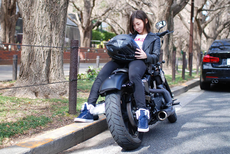 愛車はXL883N iron ( Harley-Davidson ) / T.F.a custom  AGグループの中でも仲間と認められた人しか所属できないT.F.A motor cycle CLUBのRoad Captainでもある。