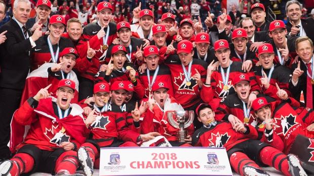 Team Canada   2018 IIHF World Champions