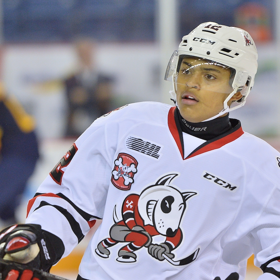Akil Thomas | Niagara Ice Dogs