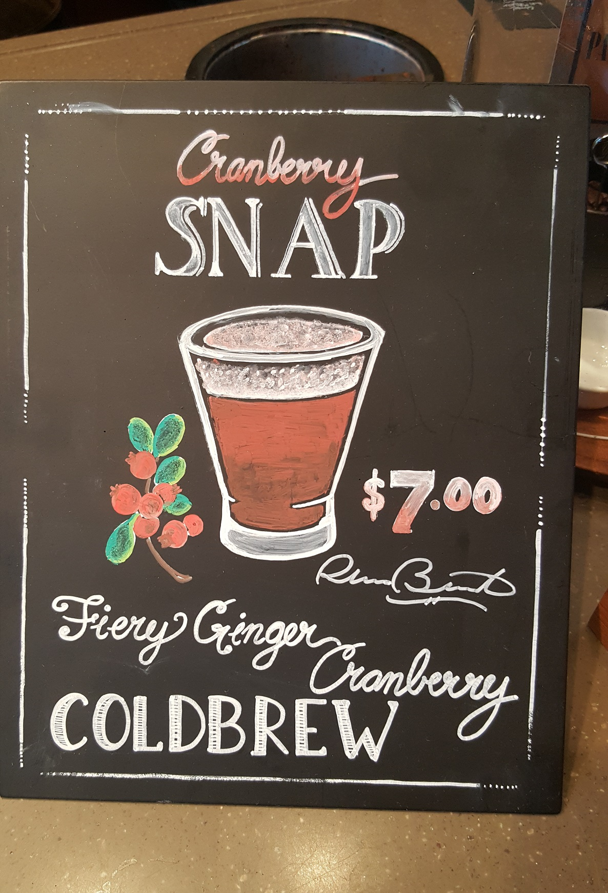 20160912_183812 sign for the cranberry snap cold brew.jpg