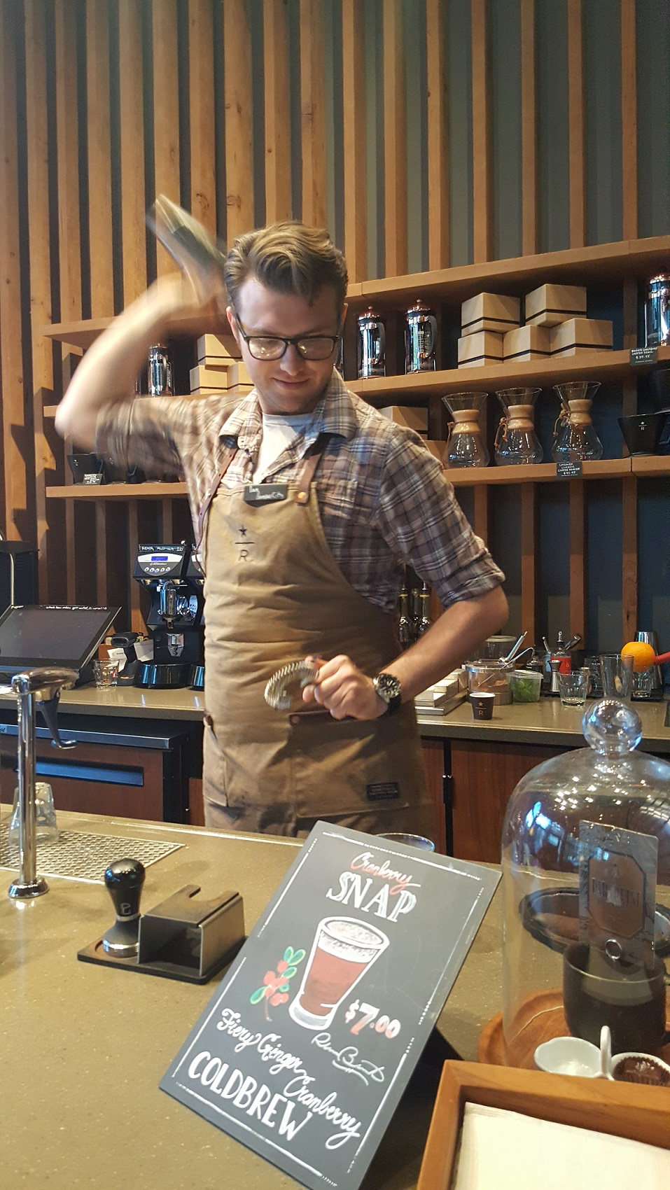20160912_184542 Ian shakes the cranberry snap cold brew drink.jpg