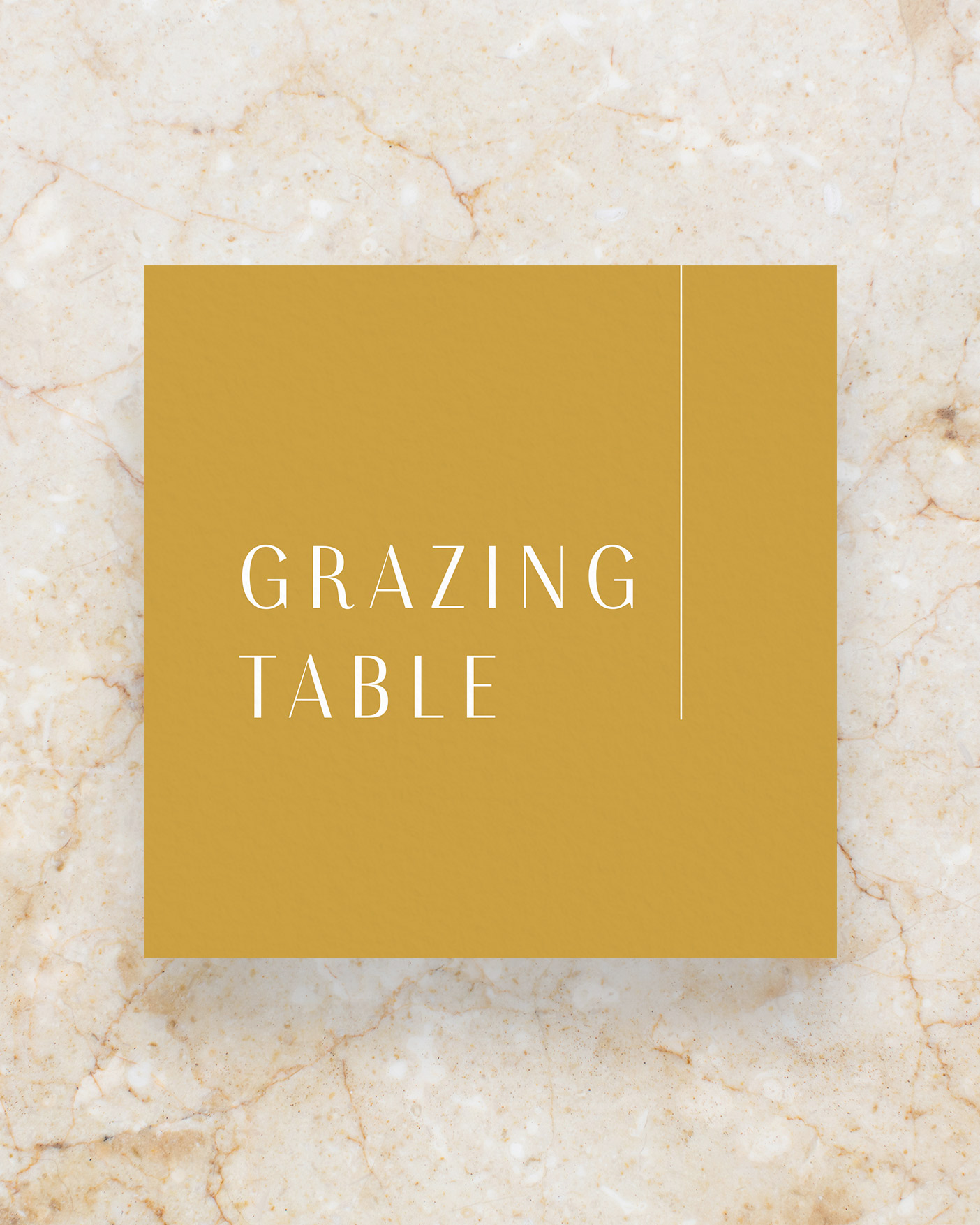 Grazing Table Sign