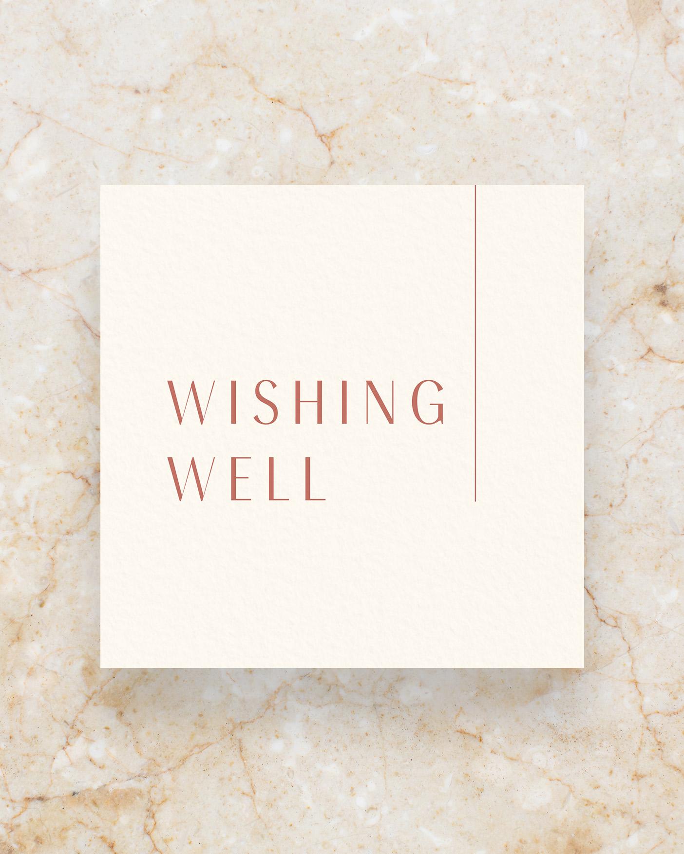Wishing Well Sign