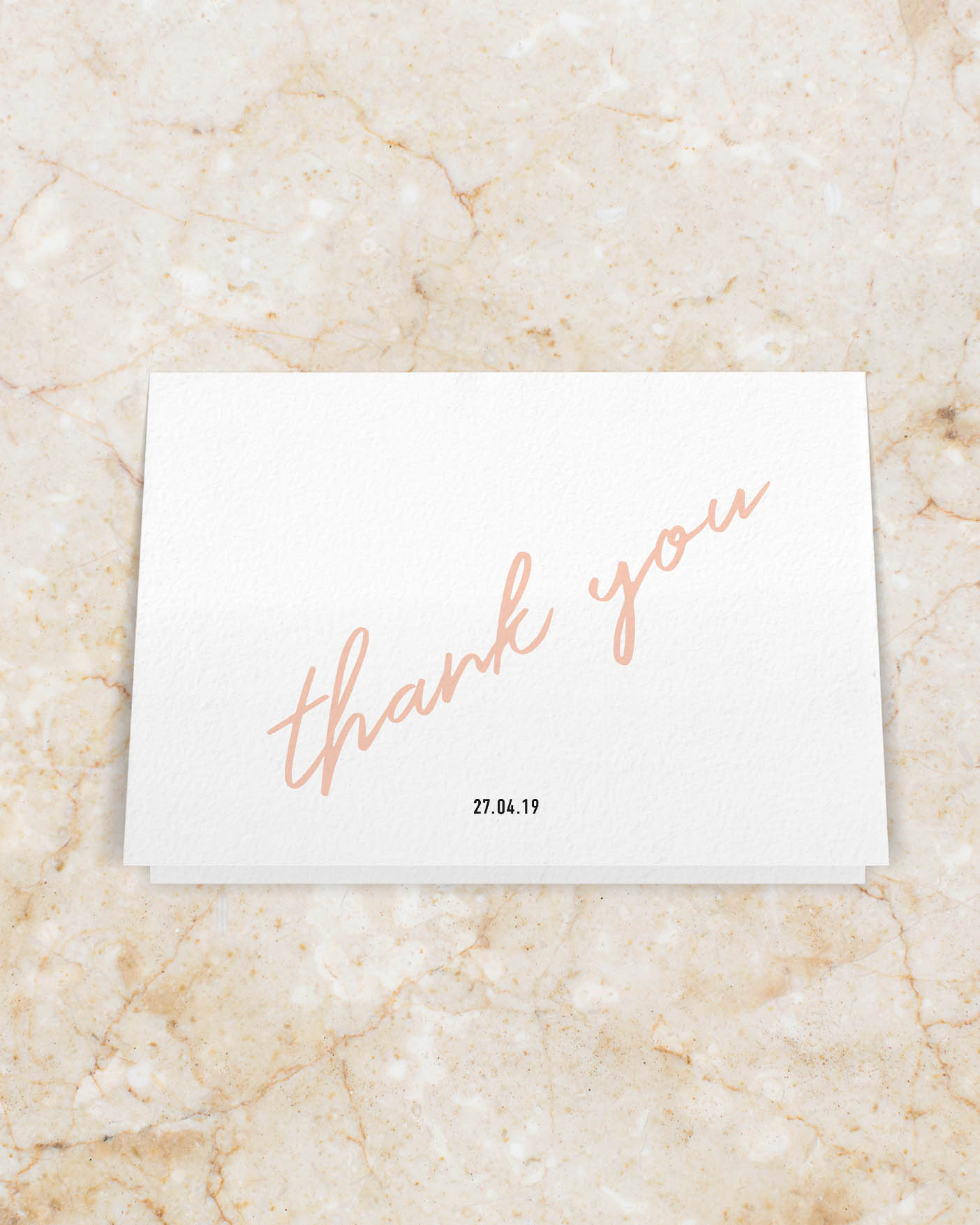 Thank you Card - Back
