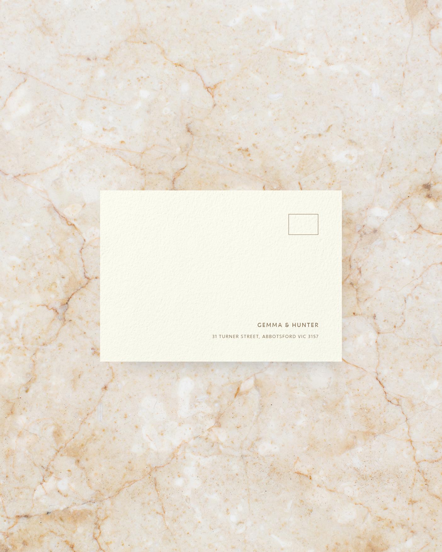 RSVP Envelope - Ivory