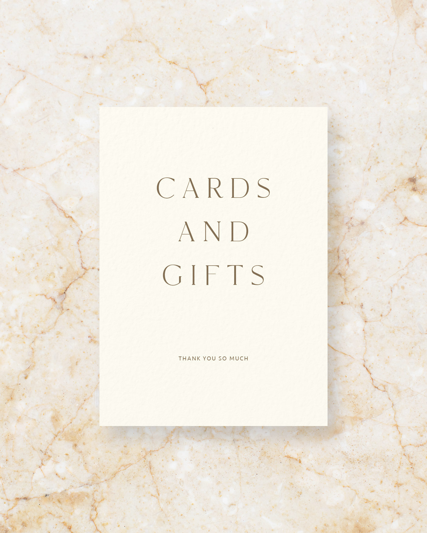 Cards & Gifts - Ivory
