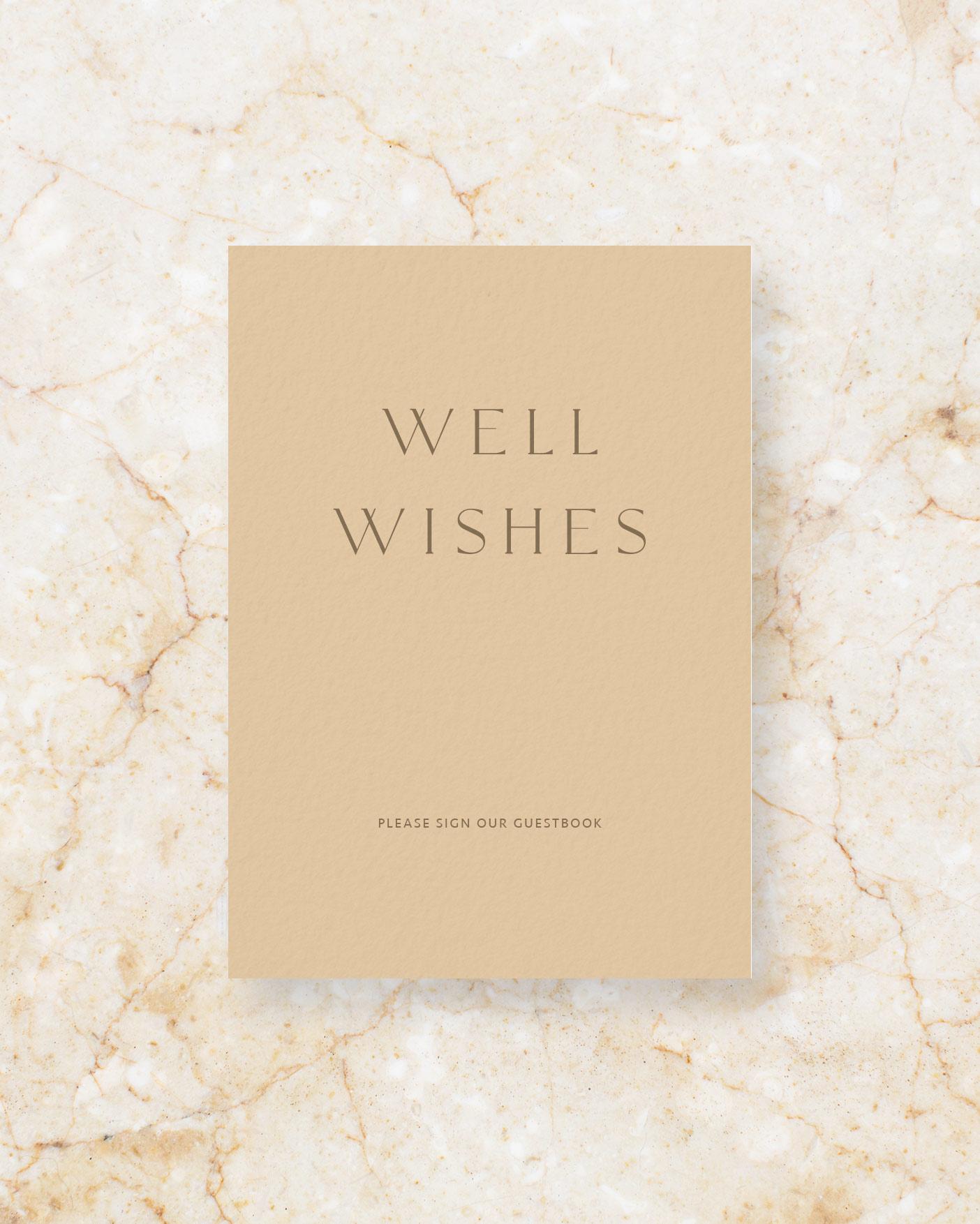 Guest Book - Stone