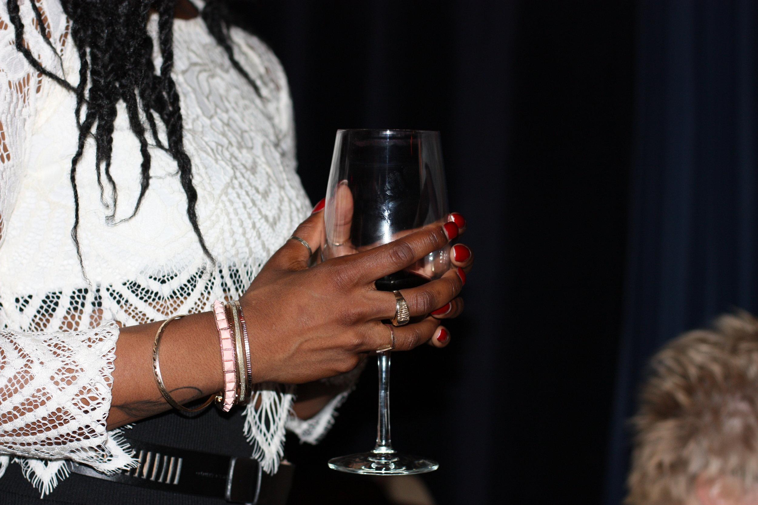 Connection, Art & Wine Night
