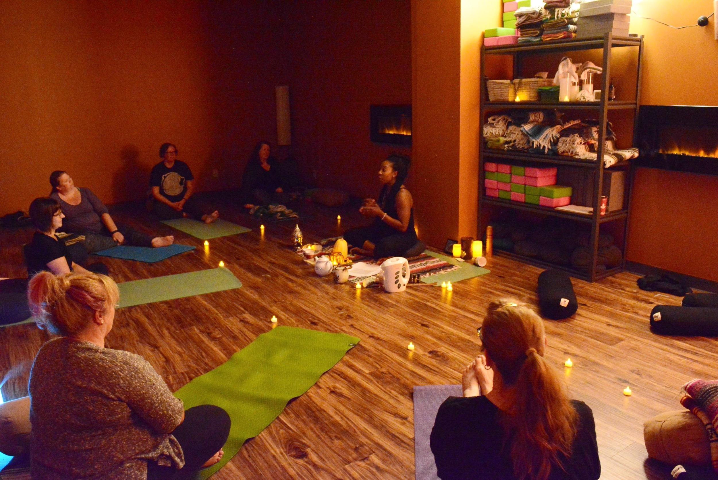 Autumn Equinox Celebration 2016 hosted out of Above Average Yoga Studio in Edmonton, AB