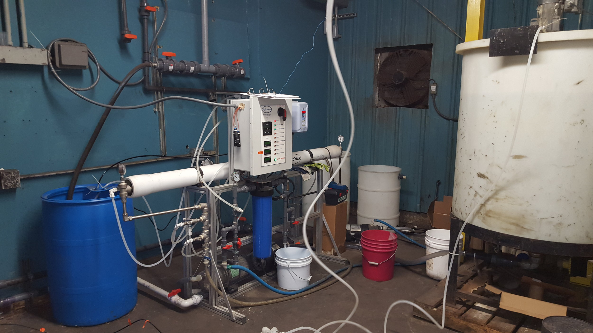 Hydromax System Design and Pilot Testing