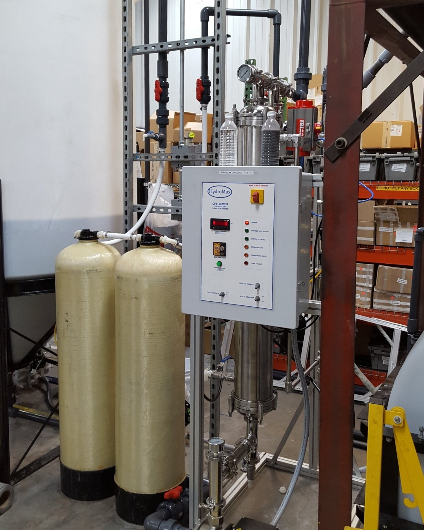 Hydromax Process and Wastewater