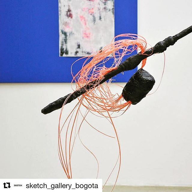#bogota 🇨🇴| Exhibition Mañana Vapor by @julien.creuzet is still on view 😍 @sketch_gallery_bogota ・・・ Exhibition view detail  @Nikojacob #contemporaryart  #soloshow #juliencreuzet #curatedby #aurelievandewynckele #MañanaVapor #anneefrancecolombie