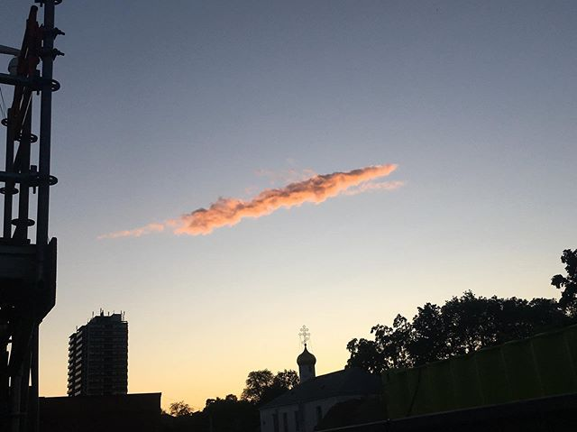 """It's a cool cloud!"" she said"