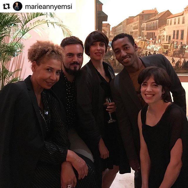 Dream team 🎯 #curatorialprogram #apertura2019 #artemadrid #collectorsgala #museothyssenbornemisza @arte_madrid @marieannyemsi @oseibonsu_  @pip_wallis @luchettimatteo